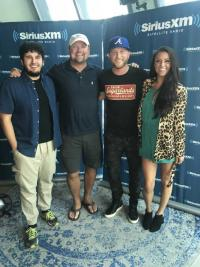 Cole Swindell Celebrates 'All Of It' On SiriusXM's 'The Highway'