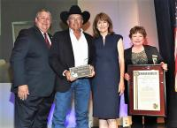 George Strait Accepts 'Texan Of The Year' Honor