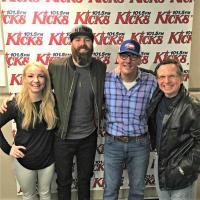 Jordan Davis Hangs With WKHX/Atlanta