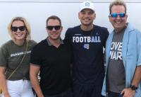 Kane Brown Catches Up With Radio Friends