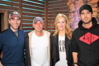 Kenny Chesney Gets Along With 'Ty, Kelly & Chuck'