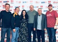 Krystal Keith And Lance Carpenter Stop By KKIX/Fayetteville, AR
