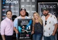 Luke Combs Celebrates Latest Hit, 'One Number Away'