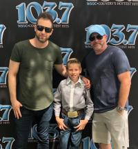 Mason Ramsey Hangs In Charlotte