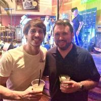 Morgan Evans Hangs In Nashville During CMA Fest
