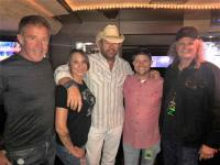 Toby Keith Catches Up With Radio Friends