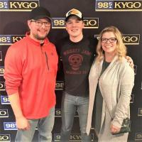 Travis Denning Visits KYGO/Denver