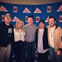 Walker McGuire Hangs With KKWF/Seattle