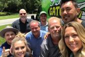 Gone West Visits WGNE/Jacksonville