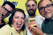 WYCT/Pensacola Welcomes Seaforth With Vegemite