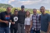 Riley Green Rides The River For Charity
