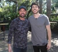 Morgan Evans And Cody Alan Hang In Florida