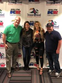 Gabby Barrett Finds The 'KEEY' To Radio Tour In Minneapolis