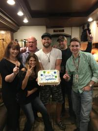 Chase Rice Celebrates #1 With Radio Friends