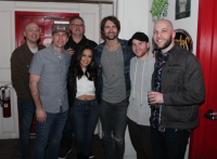 Ryan Hurd Celebrates With Country Radio Friends