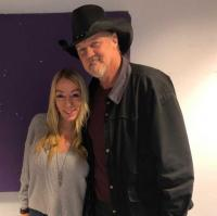 Trace Adkins Catches Up With Whitney Allen