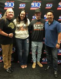 Tucker Beathard Visits With Houston Radio