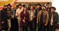 Whiskey Myers & Chase Rice Catch Up In Nashville