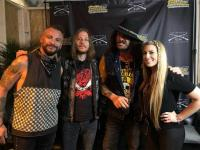 WRKZ's Loper And Randi Rock The Range With Shaman's Harvest