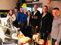 WDRV/Chicago's Sherman & Tingle Raise $60,000 For Veterans Service Animals