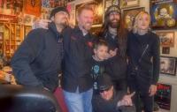 Pop Evil Visits 94 Rock's Lance And Son