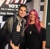 Perry Farrell Hangs With Mistress Carrie At WAAF/Boston