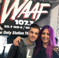 Ice Nine Kills Visits WAAF/Boston