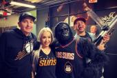 Dana's Fun With Phoenix Suns