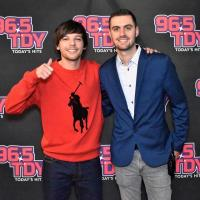 96.5 TDY Philadelphia Welcomes Louis Tomlinson