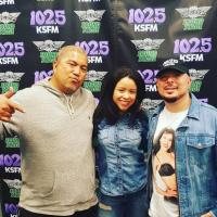 Empire artist Cierra Ramirez At KSFM/Sacramento