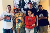 EMPIRE Artist Eric Bellinger Visits KSEQ (Q97.1)/Fresno