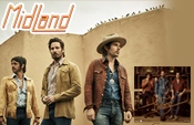 Midland (Mark Wystrach – Lead Vocals; Jess Carson – Lead Guitar; Cameron Duddy – Bass)